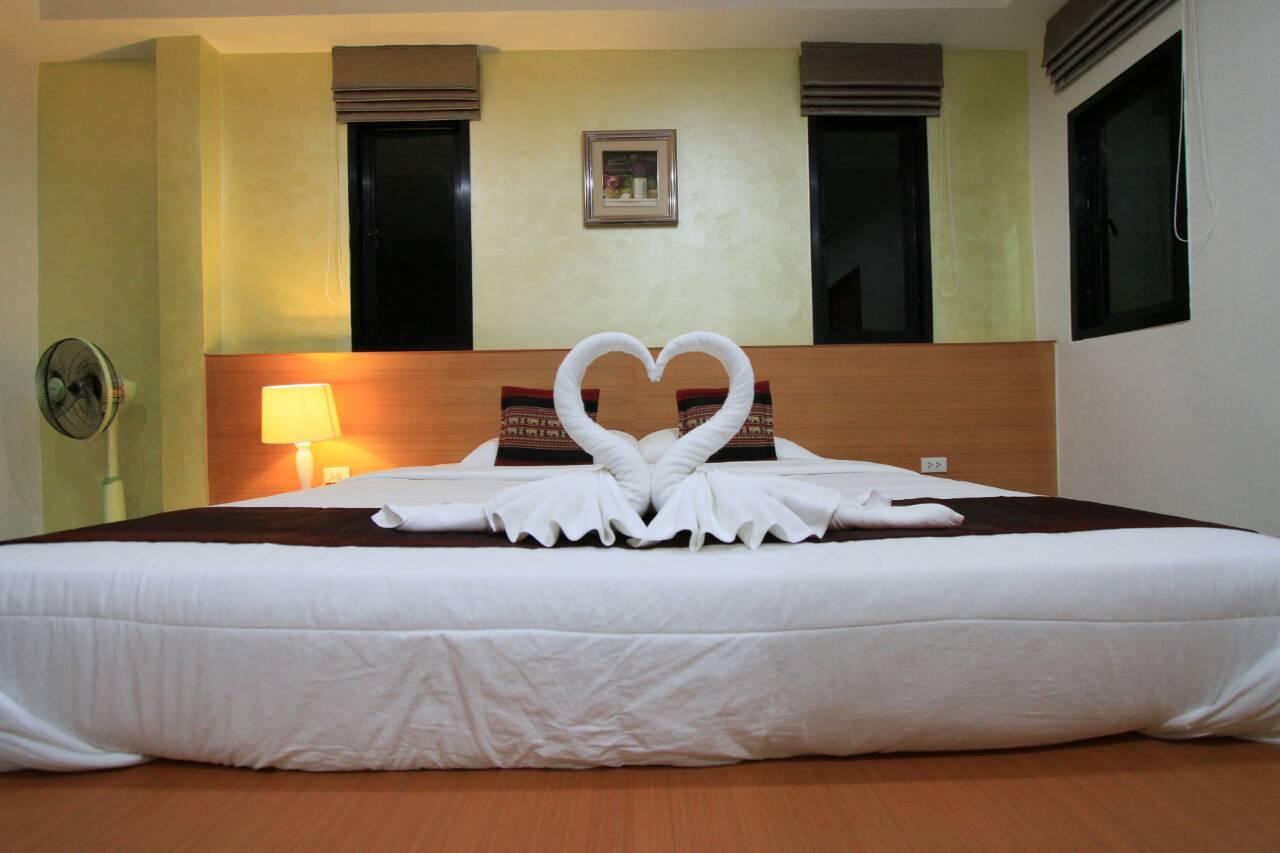 ห้องพักดีลักซ์ เตียงเดี่ยว